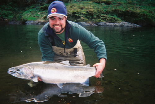 Dave Manners with a nice Steelhead